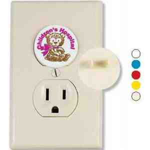 Electric Outlet Protectors, Custom Imprinted With Your Logo!