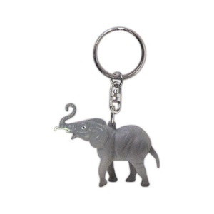 Custom Printed Republican Campaign Elephant Shaped Key Chains