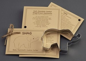 Custom Printed Elephant Stock Shaped Cookie Cutters