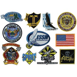 Embroidered Patches, Custom Imprinted With Your Logo!