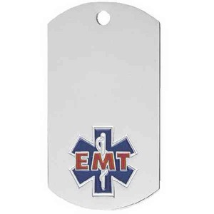 Custom Imprinted Emergency Responders Dog Tags