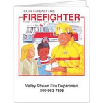 Custom Printed Fire Safety Coloring Books
