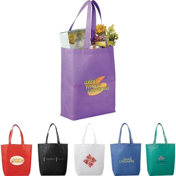 Custom Printed 1 Day Service Non Woven Tote Bags