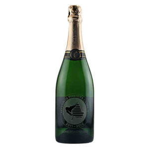 Custom Printed Etched California Champagne Wine Bottles