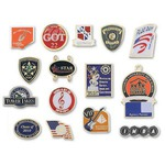 Customized Etched Soft Enamel Lapel Pins