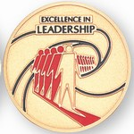 Custom Engraved Excellence in Leadership Emblems and Seals