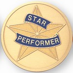 Custom Engraved Excellent Performer Emblems and Seals