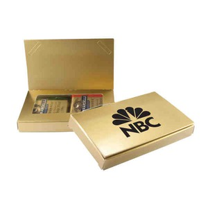 Custom Printed Executive Business Card Holder and Food Gift Sets