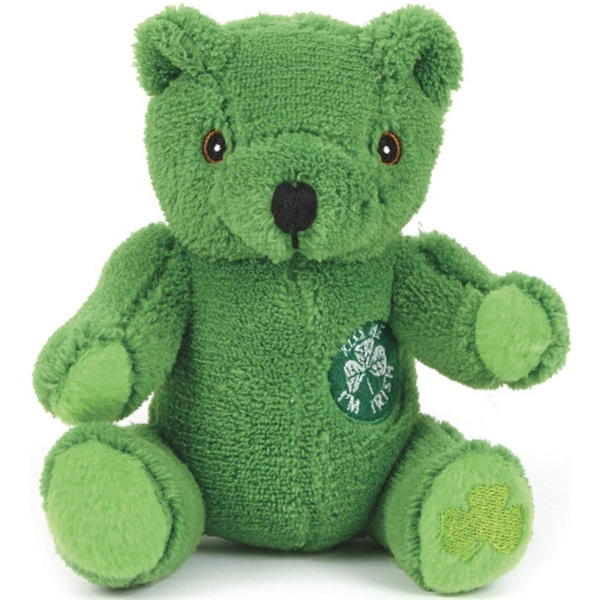 Custom Printed St. Patrick's Day Holiday Stuffed Animals