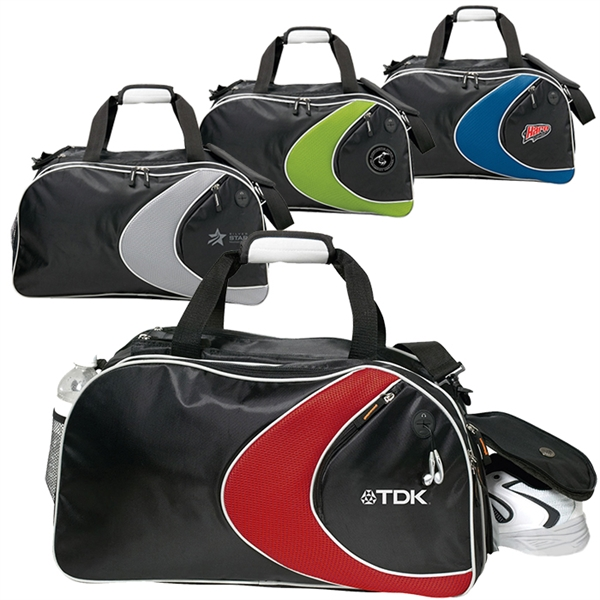 Custom Printed Canadian Manufactured Extreme Sports Duffel Bags
