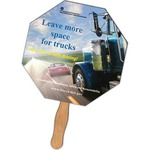 Custom Printed Promotional Hand Held Fans