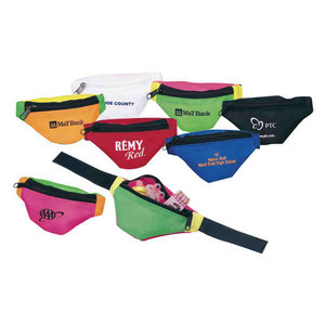 Fanny Pack Shaped Coin Purses, Customized With Your Logo!