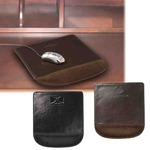 Custom Decorated Faux Leather Wrist Rests