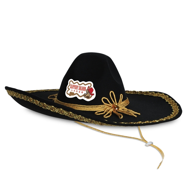 Sombrero Hats, Custom Imprinted With Your Logo!