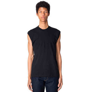 Custom Printed American Apparel Fine Jersey Muscle T-Shirts For Men