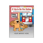 Personalized Fire Department Coloring and Activity Books