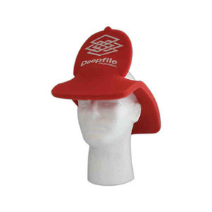 Custom Printed Fire Department Foam Visors
