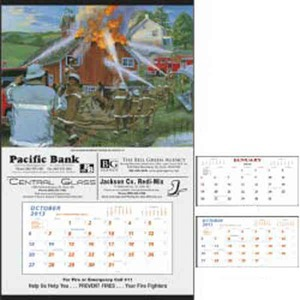 Custom Printed Fire Hanger Commercial Calendars