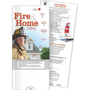 Custom Printed Fire Prevention Slide Cards