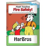 Custom Decorated Fire Safety Themed Coloring Books