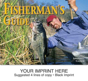 Fishing and hunting wall calendars custom imprinted with for Hunt fish calendar