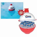 Custom Imprinted Fishing Bobber Shaped Floating Coolers