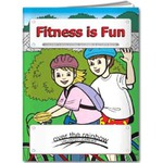 Custom Made Fitness Themed Coloring Books