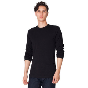 American Apparel Fitted Long Sleeve T-Shirts For Men, Custom Imprinted With Your Logo!