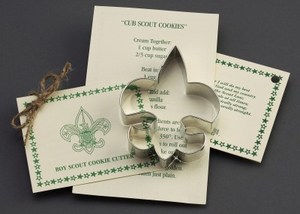 Custom Imprinted Fleur De Lis Stock Shaped Cookie Cutters