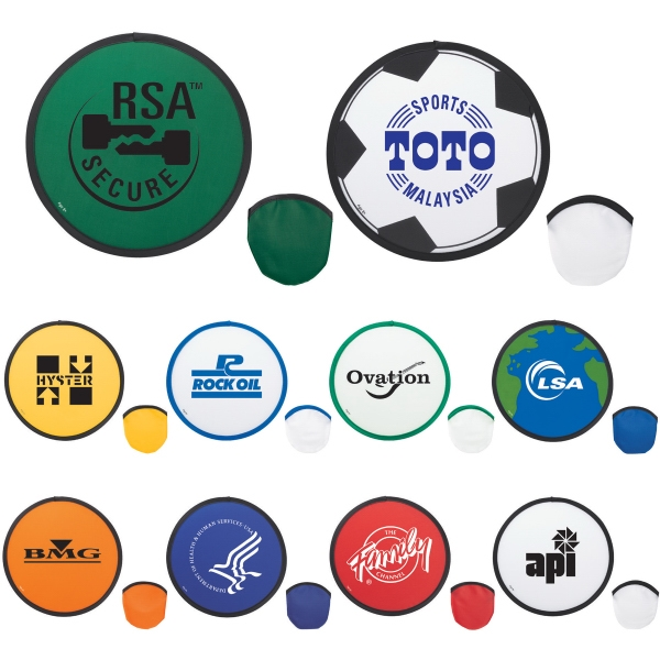 Custom Printed 1 Day Service Nylon Flying Discs