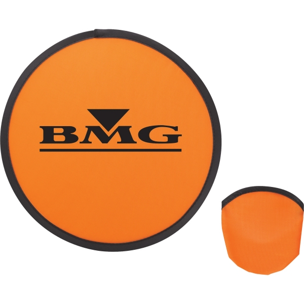 1 Day Service Nylon Flying Discs, Custom Designed With Your Logo!