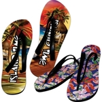 Custom Imprinted Colorful Sandal Flip-Flops