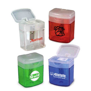 Custom Printed Flip Top Pencil Sharpeners