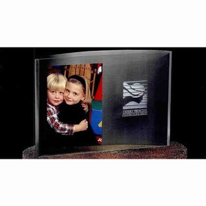 Custom Printed Floating Picture Frame Crystal Gifts