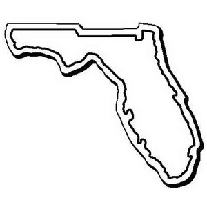 Custom Printed Florida Shaped Magnets