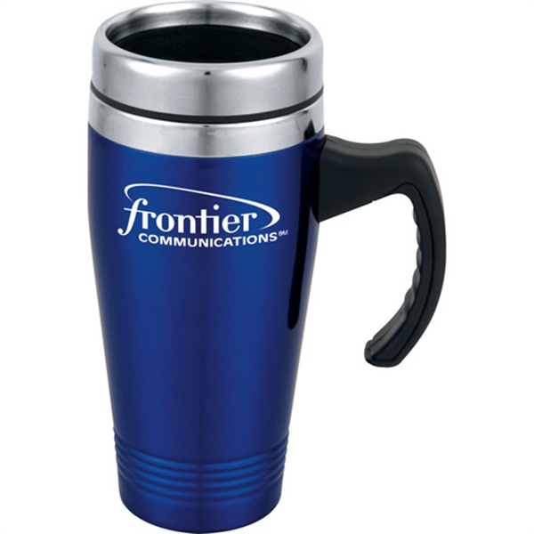 1 Day Service Rubber Shell Travel Tumblers, Customized With Your Logo!