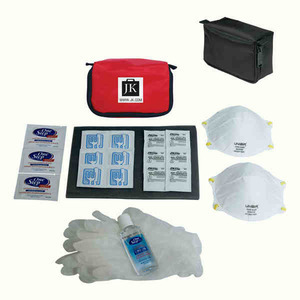 Custom Printed Flu Safety Hygene Kits