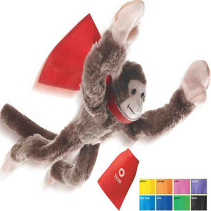 Custom Printed Flying Shrieking Monkey Animal Toys