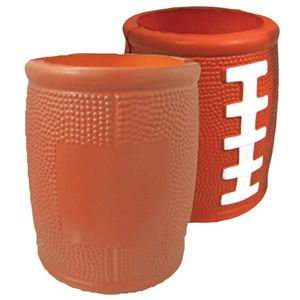 Custom Printed Football Helmet Shaped Can Coolers