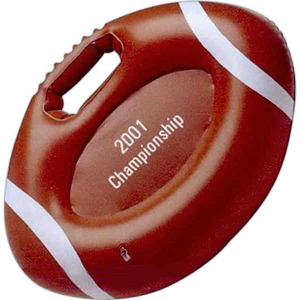Custom Printed Football Shaped Inflatable Cushions