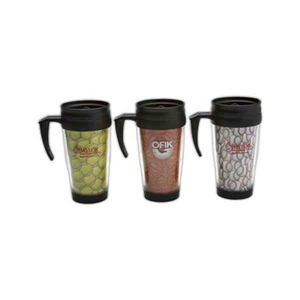 Custom Printed Football Shaped Travel Mugs