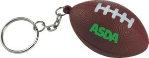 Custom Printed Football Sport Themed Keychains