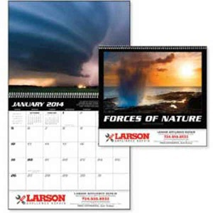 Custom Printed Forces of Nature Appointment Calendars