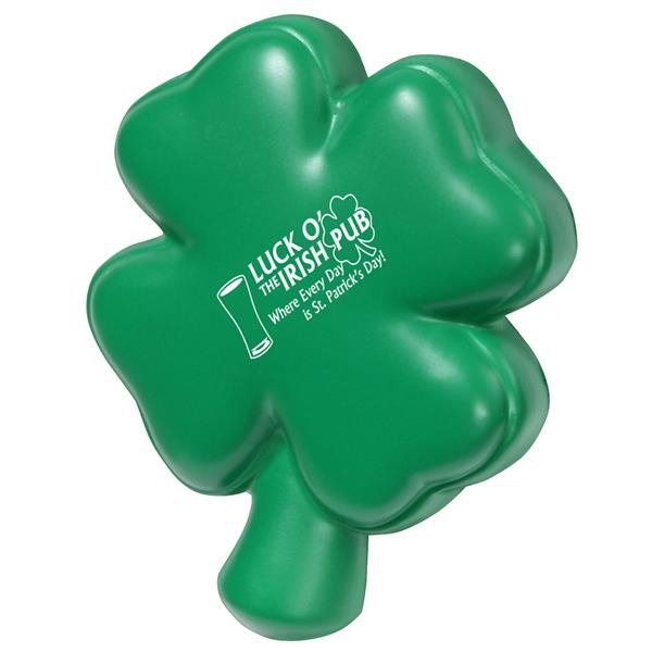 Custom Printed St. Patrick's Day Holiday Stress Relievers