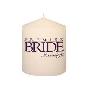 Custom Imprinted Full Color Photo Candles