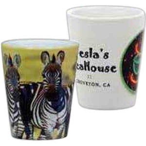 Custom Printed Full Color Shot Glasses