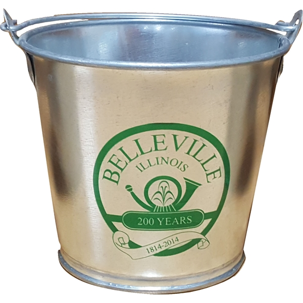 55oz. Tin Buckets, Custom Printed With Your Logo!