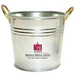 Custom Designed Galvanized Buckets
