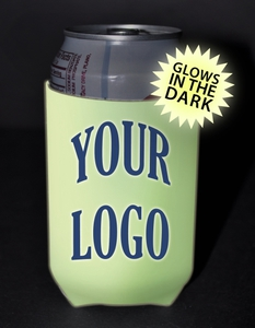 Custom Printed Glow in the Dark Can Coolers