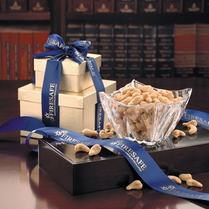 Genuine Crystal Food Gift Sets, Customized With Your Logo!